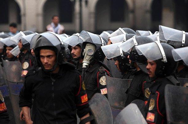قوات الأمن المركزي المصري