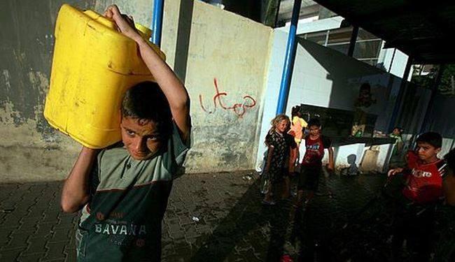 Photo of يوميات الغزازوة في الحرب: قطعت المية!