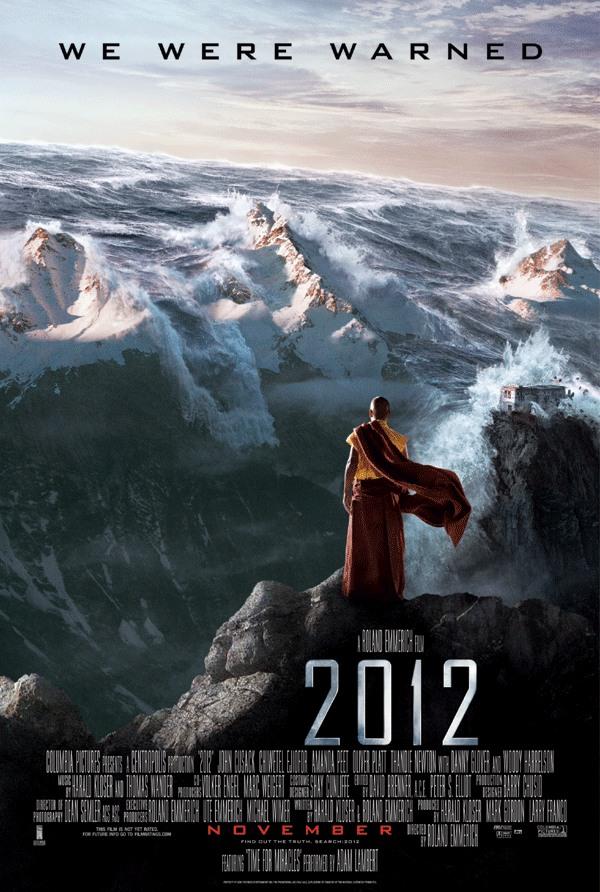 "Photo of نظرة على نهاية العالم في فلم ""2012"""