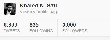 3000followers on twitter 25-12-2012