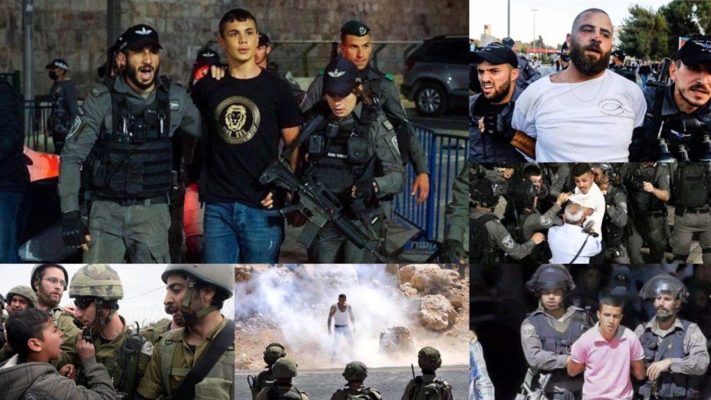الشباب الفلسطيني المرابط في القدس يواجه تعنت وانتهاكات جنود الاحتلال الإسرائيلي