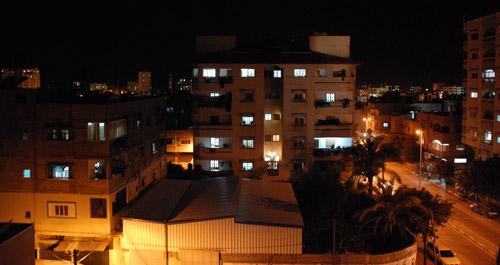 Gaza at Night غزة .. ليلاً