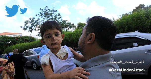 Photo of الحرب على غزة في 70 تغريدة مصورة