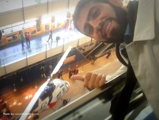 خلال جولتي معرض المتحف الإخباري Newseum بأمريكا  - نوفمبر 2012م