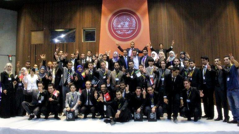 Photo of نموذج محاكاة الأمم المتحدة في غزة