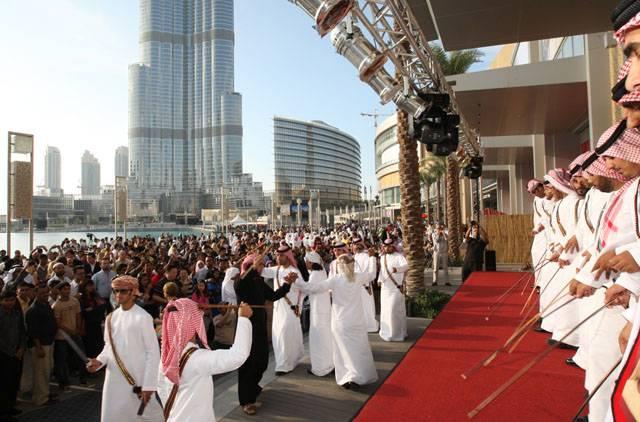 احتفالات أهل دبي بافتتاح برج خليفة