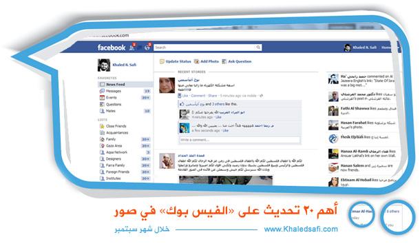 Photo of أهم 20 تحديث على فيسبوك في صور