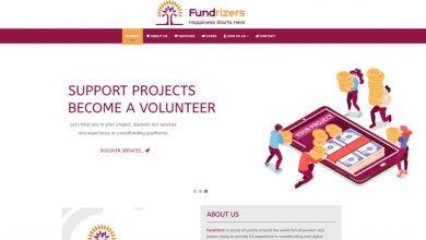 Photo of موقع فريق Fundrizers التطوعي