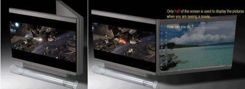 Foldable TV Screens